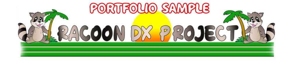 """""""Racoon DX Project""""  Banner"""