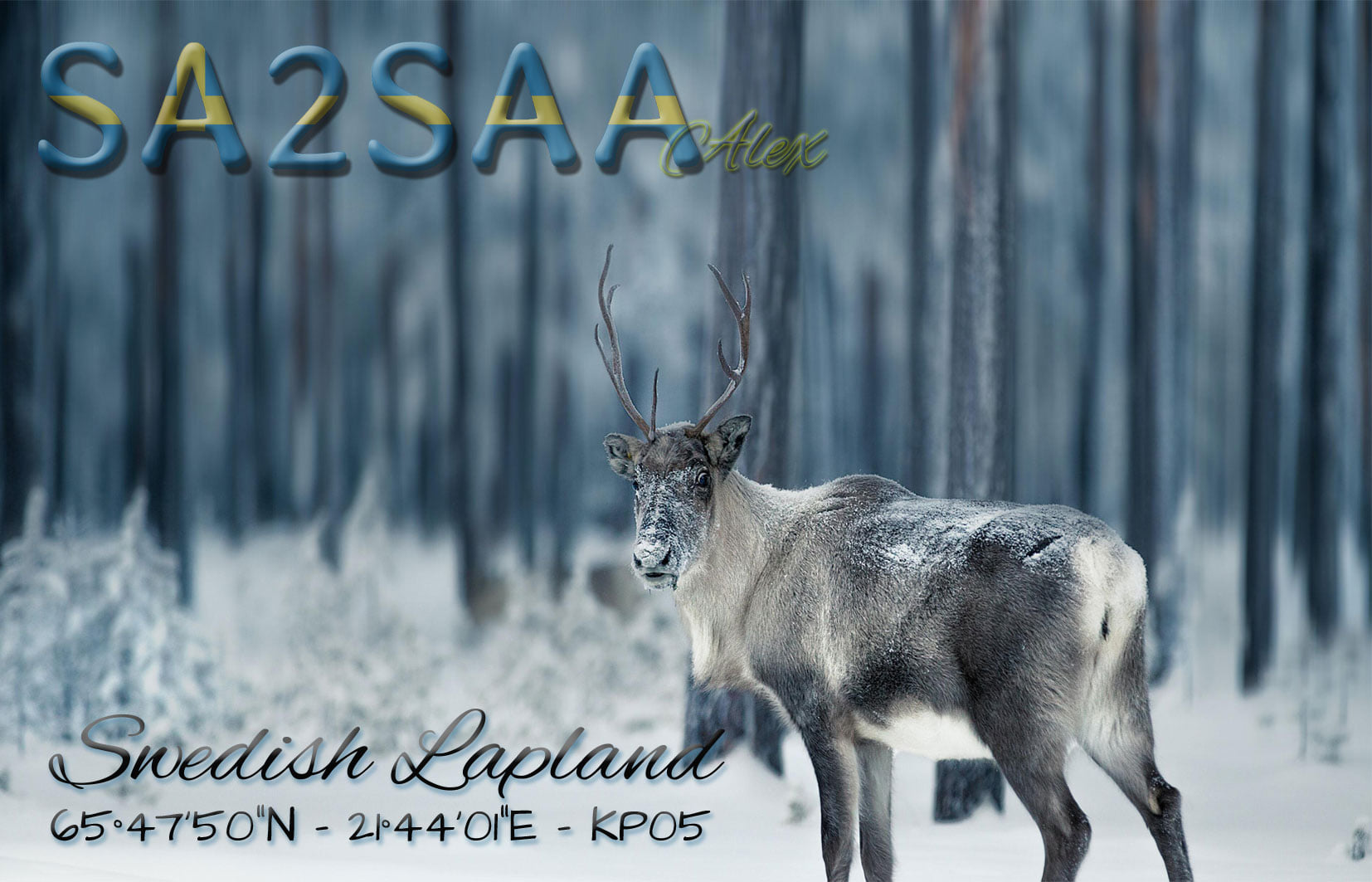SA2SAA - Personal QSL